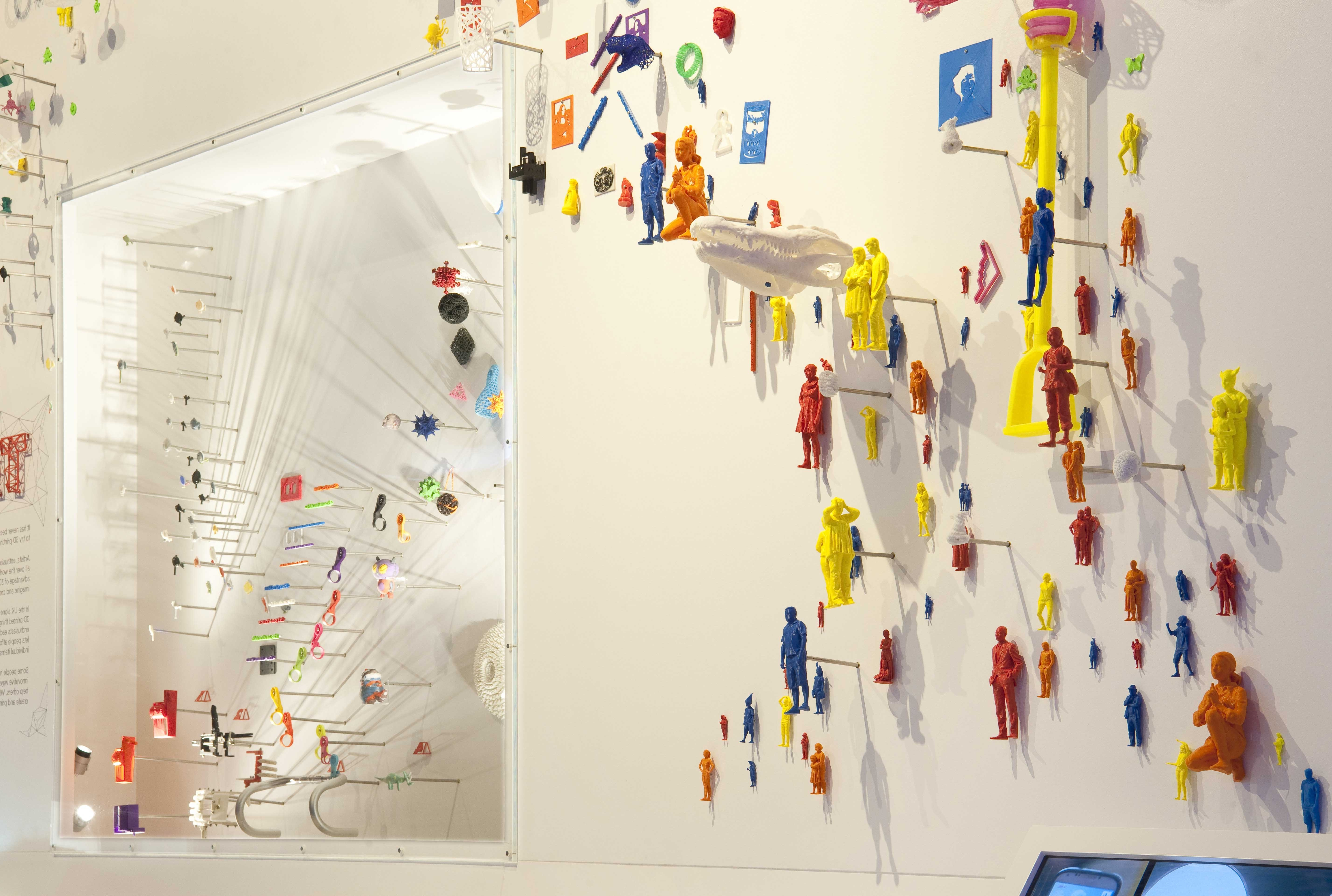 3D Printing – An Explosion Of Creativity! – Science Museum Blog Pertaining To Widely Used 3D Printed Wall Art (Gallery 9 of 15)