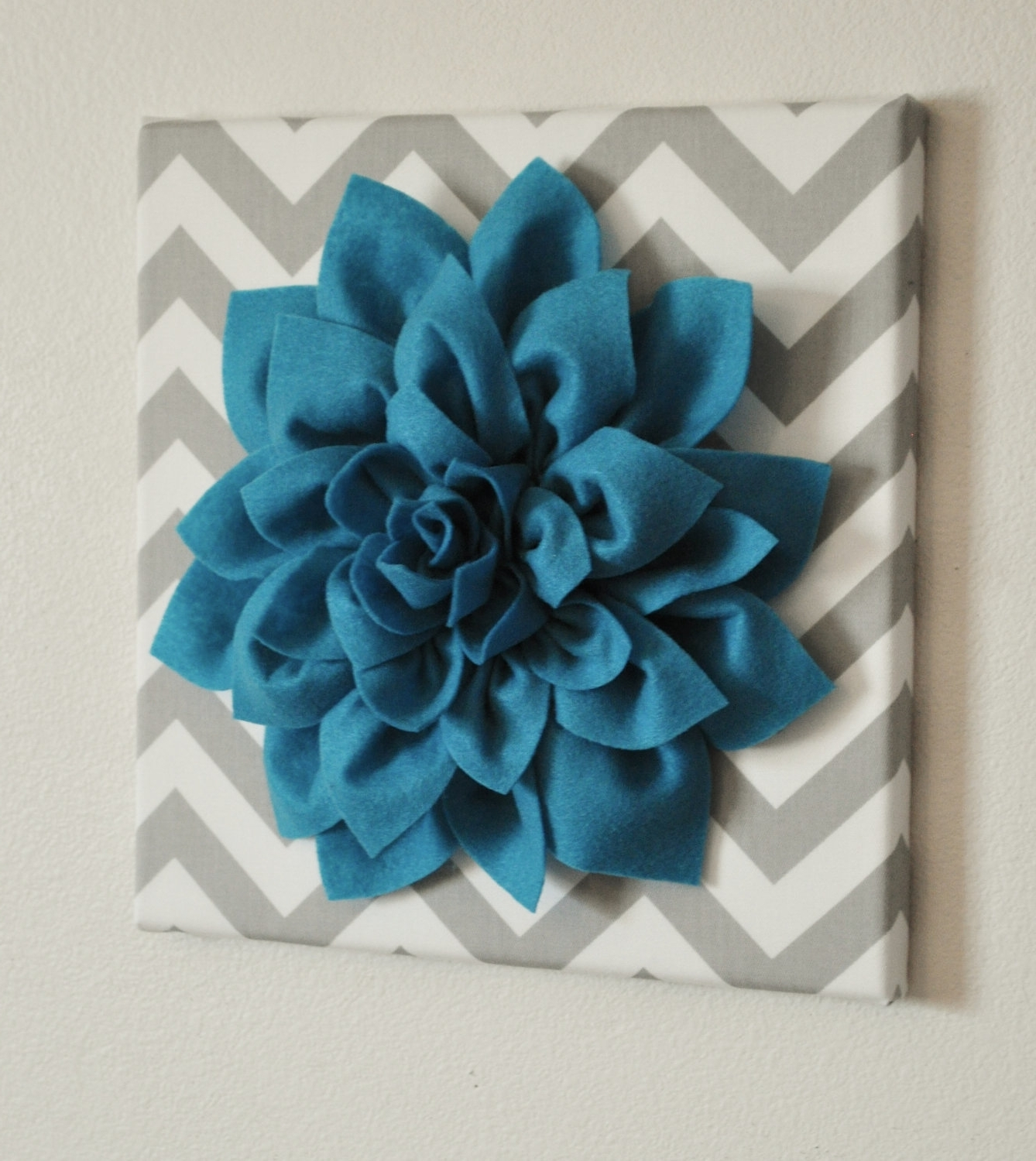 3D Wall Art Etsy With Best And Newest Marvelous 3D Flower Wall Decor 5 Fabric Art Magenta ~ Loversiq (View 4 of 15)