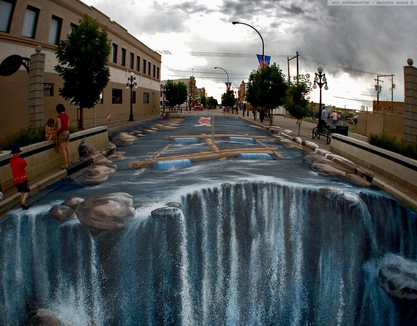 "3D Wall Art Illusions In 2018 When You Hear The Words ""Street Art"" You Most Probably Snort In (View 2 of 15)"