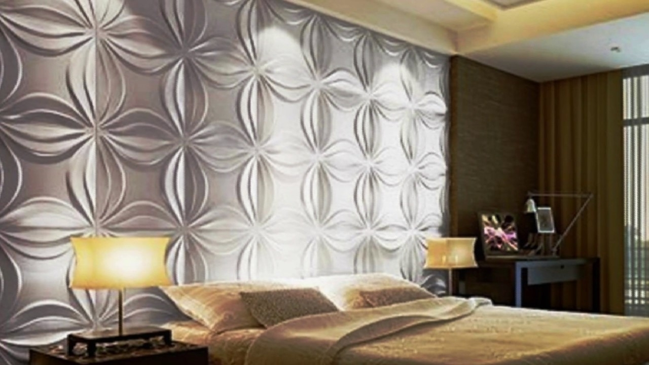 3D Wall Covering – 3D Wall Art Panels – Youtube With Regard To Most Current Vidella 3D Wall Art (View 3 of 15)