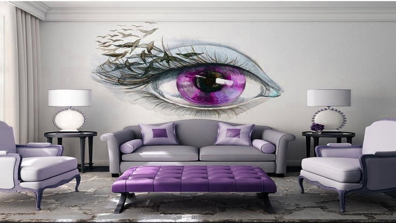 3D Wall Painting For Your Throughout Bedroom Art View 2 Of 15