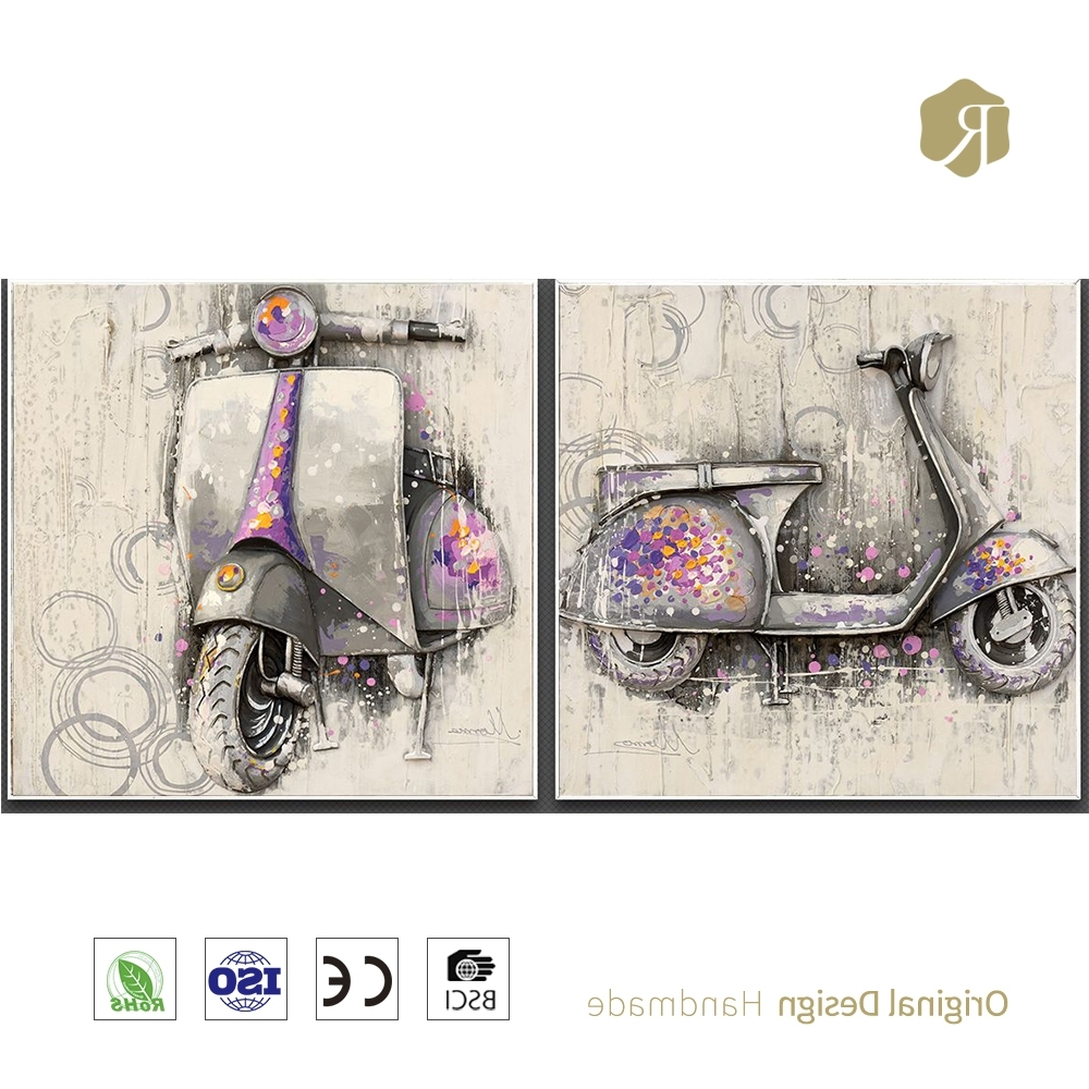3D Wall Sculpture, 3D Wall Sculpture Suppliers And Manufacturers Within Most Recent Vespa 3D Wall Art (View 1 of 15)