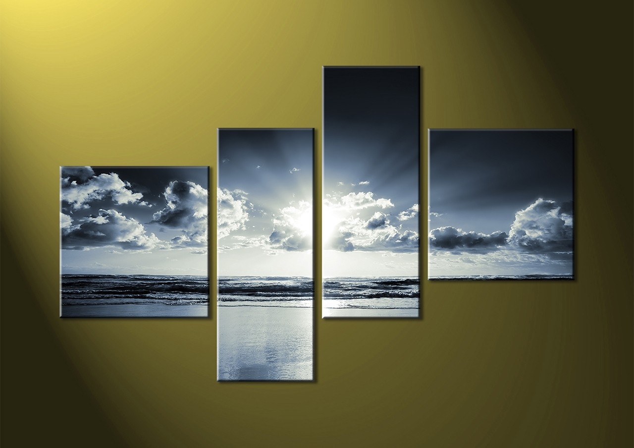 4 Piece Canvas Art Sets With Regard To Most Recent 4 Piece Wall Art (View 3 of 15)