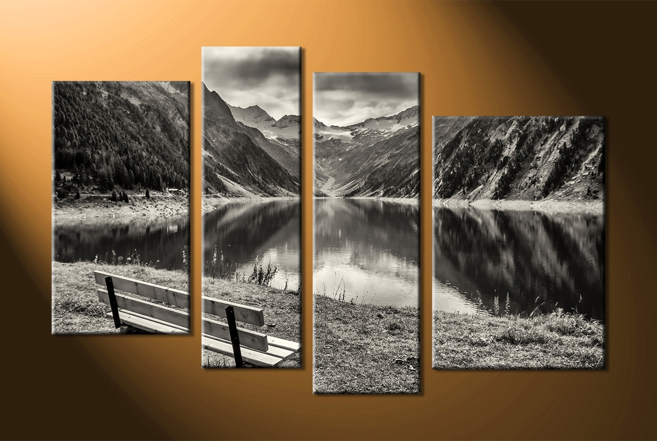 4 Piece Wall Art Sets Within Trendy Wall Art Designs 4 Piece Canvas Wall Art 4 Piece Wall Art Modern (View 6 of 15)