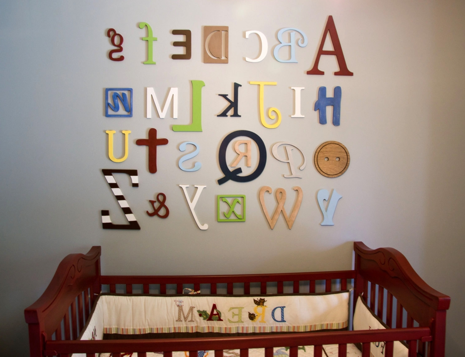 40 Extraordinary Ideas Alphabet Wall Art (View 1 of 15)