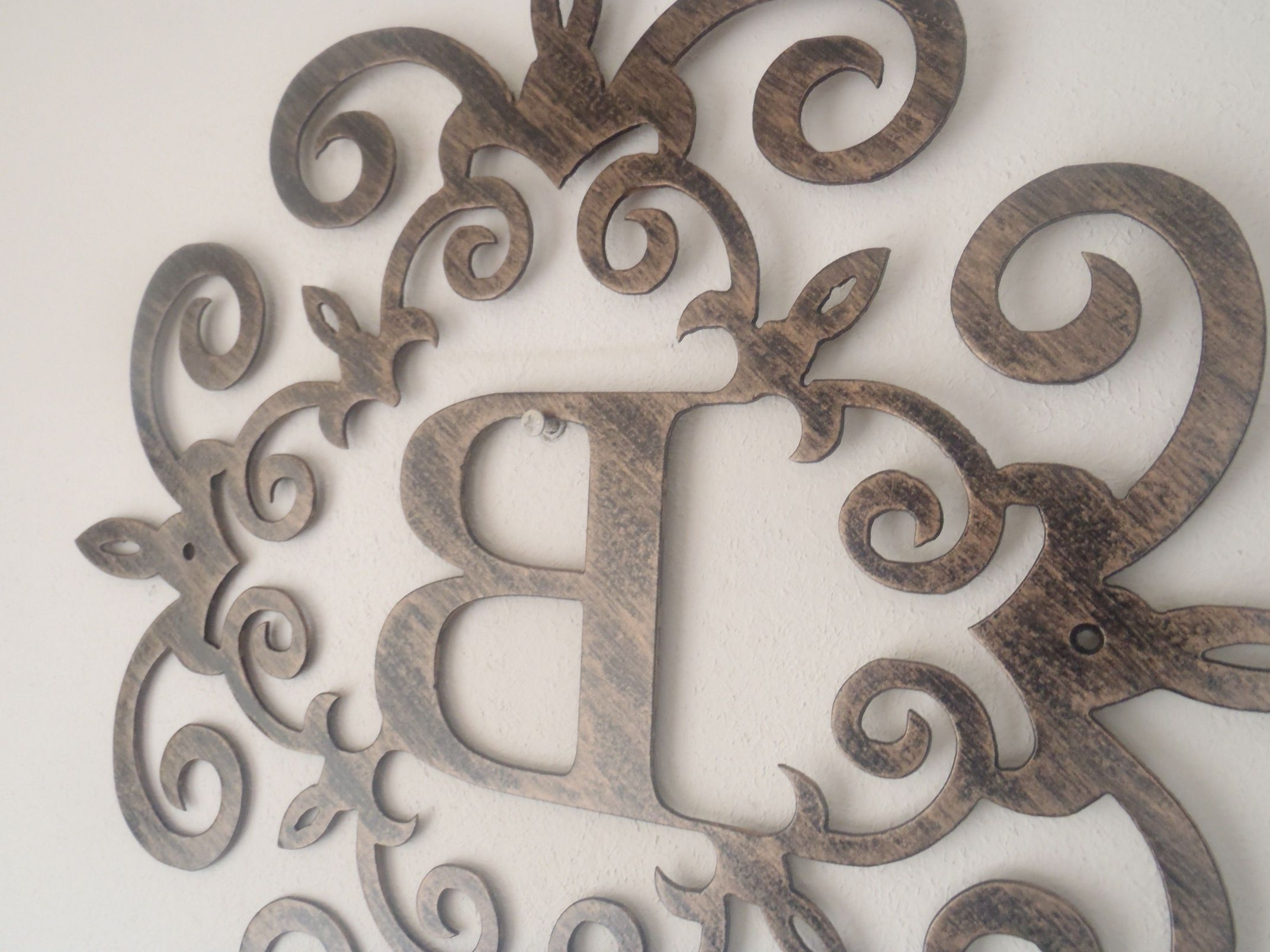40 Gorgeous Ideas Metal Letters Wall Decor (View 2 of 15)