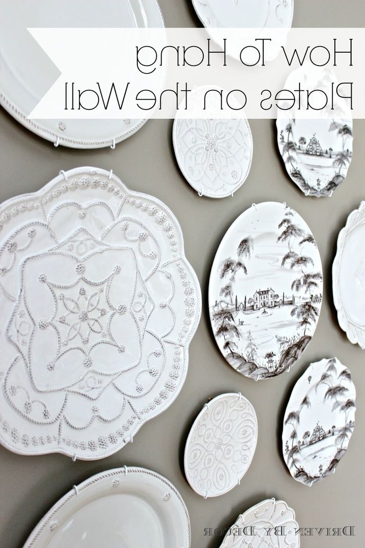 40 Lovely Ideas Decorative Wall Plates (View 3 of 15)