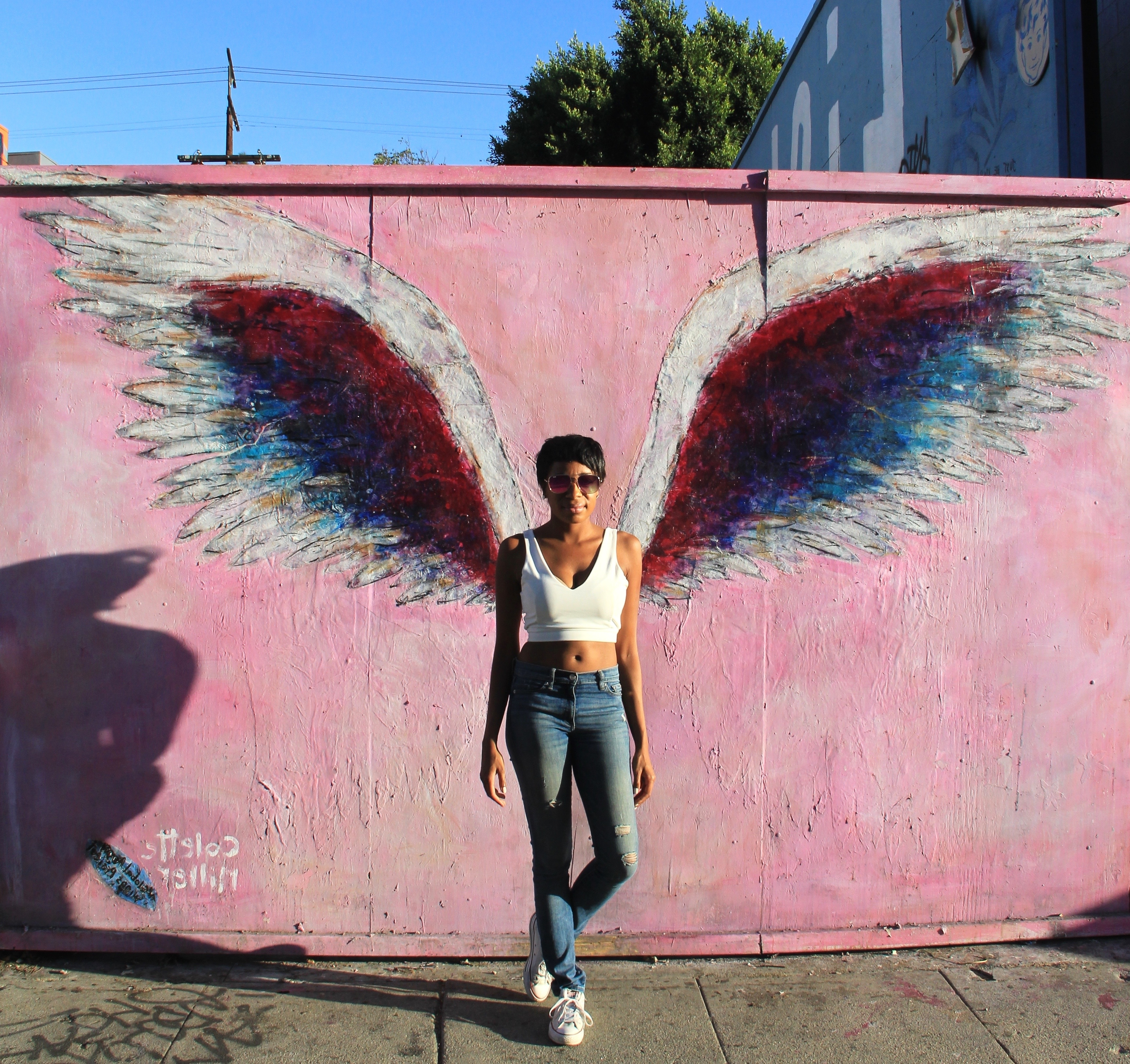 5 Insta Worthy Walls On Melrose Ave In Los Angeles – With Regard To Well Known Los Angeles Wall Art (View 3 of 15)