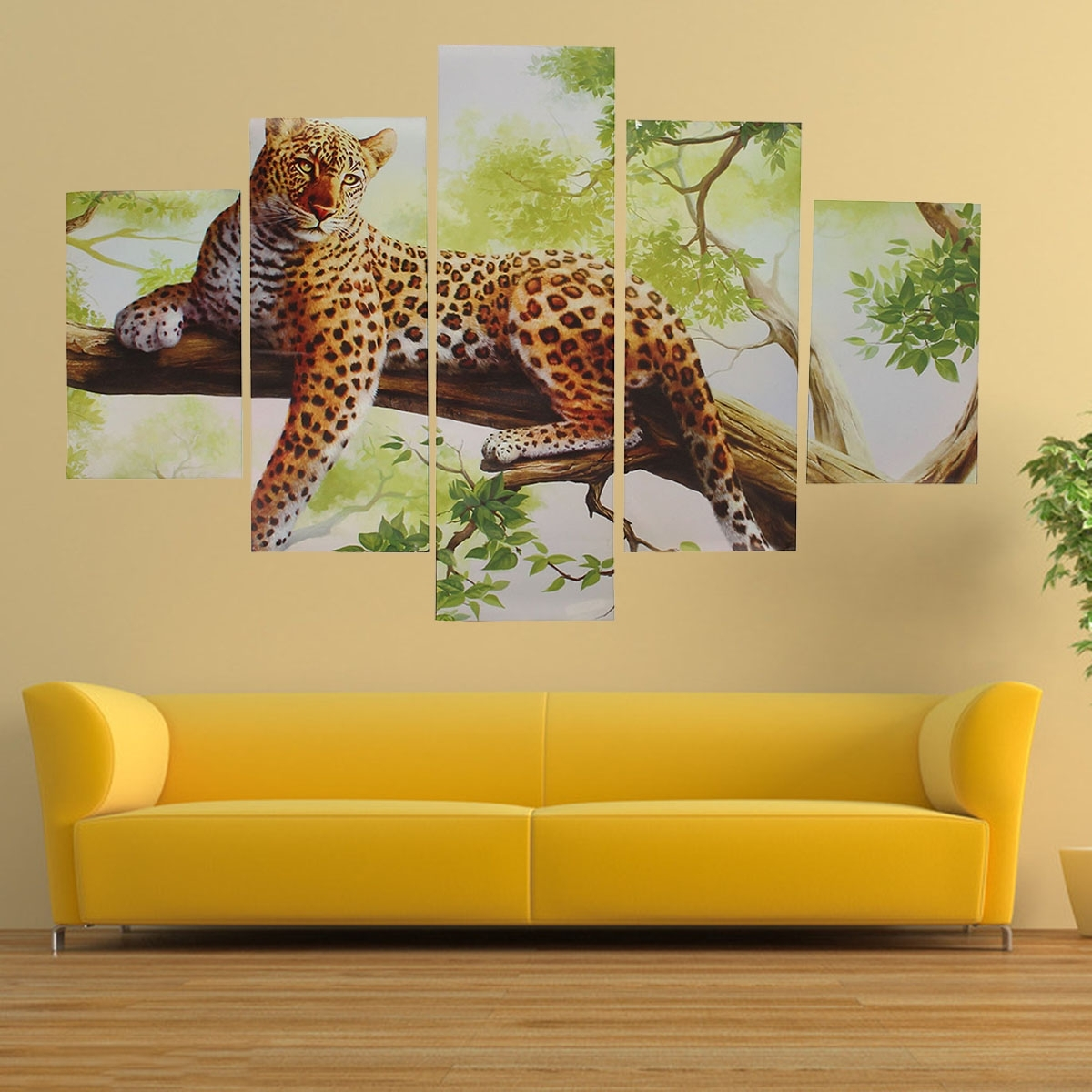Showing Gallery of Leopard Print Wall Art (View 9 of 15 Photos)