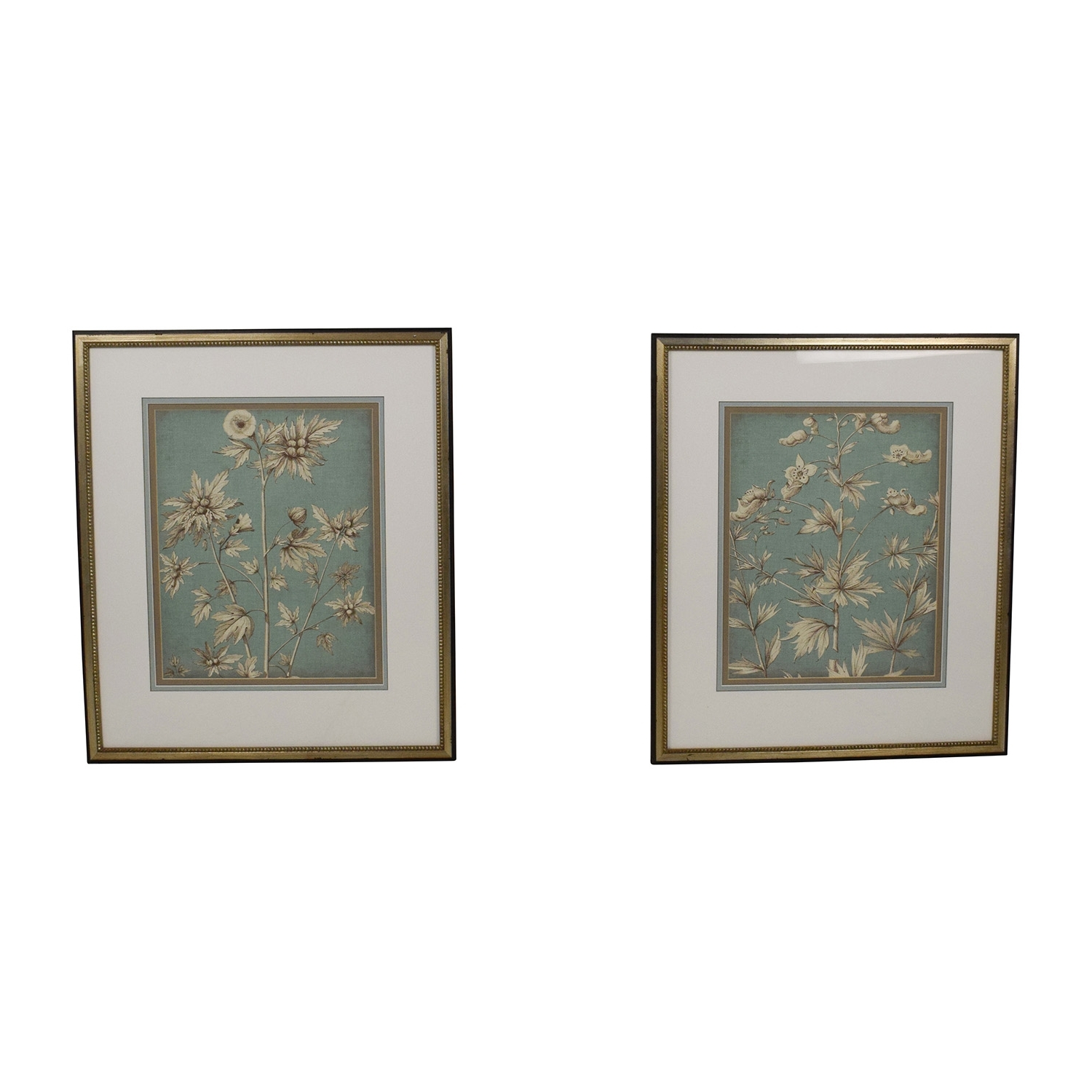 [%72% Off – Ethan Allen Ethan Allen Pair Of Decorative Floral Pertaining To Latest Ethan Allen Wall Art|ethan Allen Wall Art Throughout Well Liked 72% Off – Ethan Allen Ethan Allen Pair Of Decorative Floral|favorite Ethan Allen Wall Art Inside 72% Off – Ethan Allen Ethan Allen Pair Of Decorative Floral|widely Used 72% Off – Ethan Allen Ethan Allen Pair Of Decorative Floral Pertaining To Ethan Allen Wall Art%] (View 9 of 15)