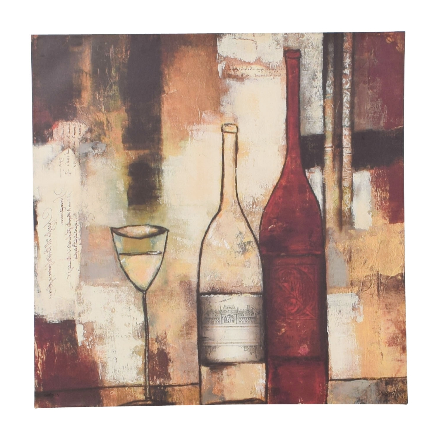 [%72% Off – Wine Abstract Wall Art / Decor With 2017 Abstract Wall Art|Abstract Wall Art Inside Best And Newest 72% Off – Wine Abstract Wall Art / Decor|Newest Abstract Wall Art Pertaining To 72% Off – Wine Abstract Wall Art / Decor|Preferred 72% Off – Wine Abstract Wall Art / Decor Regarding Abstract Wall Art%] (View 1 of 15)