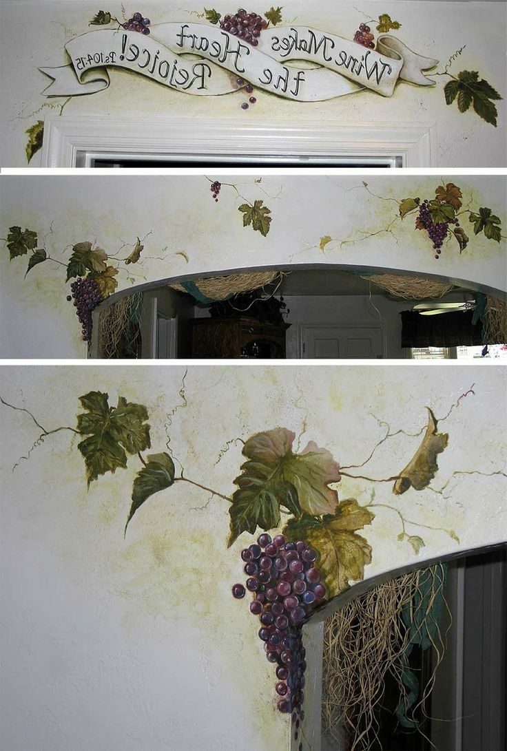 9 Best Murals Images On Pinterest (Gallery 9 of 15)