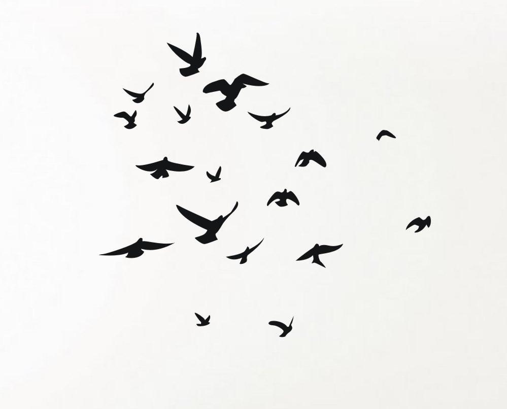 A Few Of My Favorite Inside Flock Of Birds Wall Art (View 8 of 15)