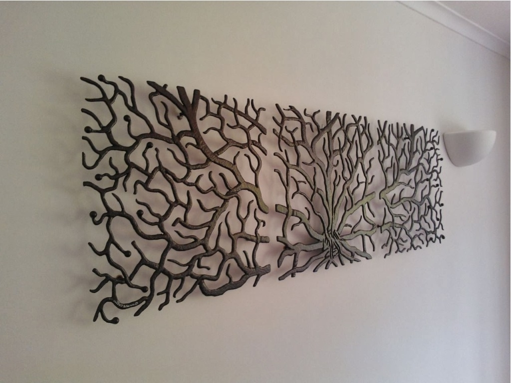 About Large Metal Wall Art : Great Ideas Large Metal Wall Art Intended For Fashionable Metal Art For Walls (View 6 of 15)