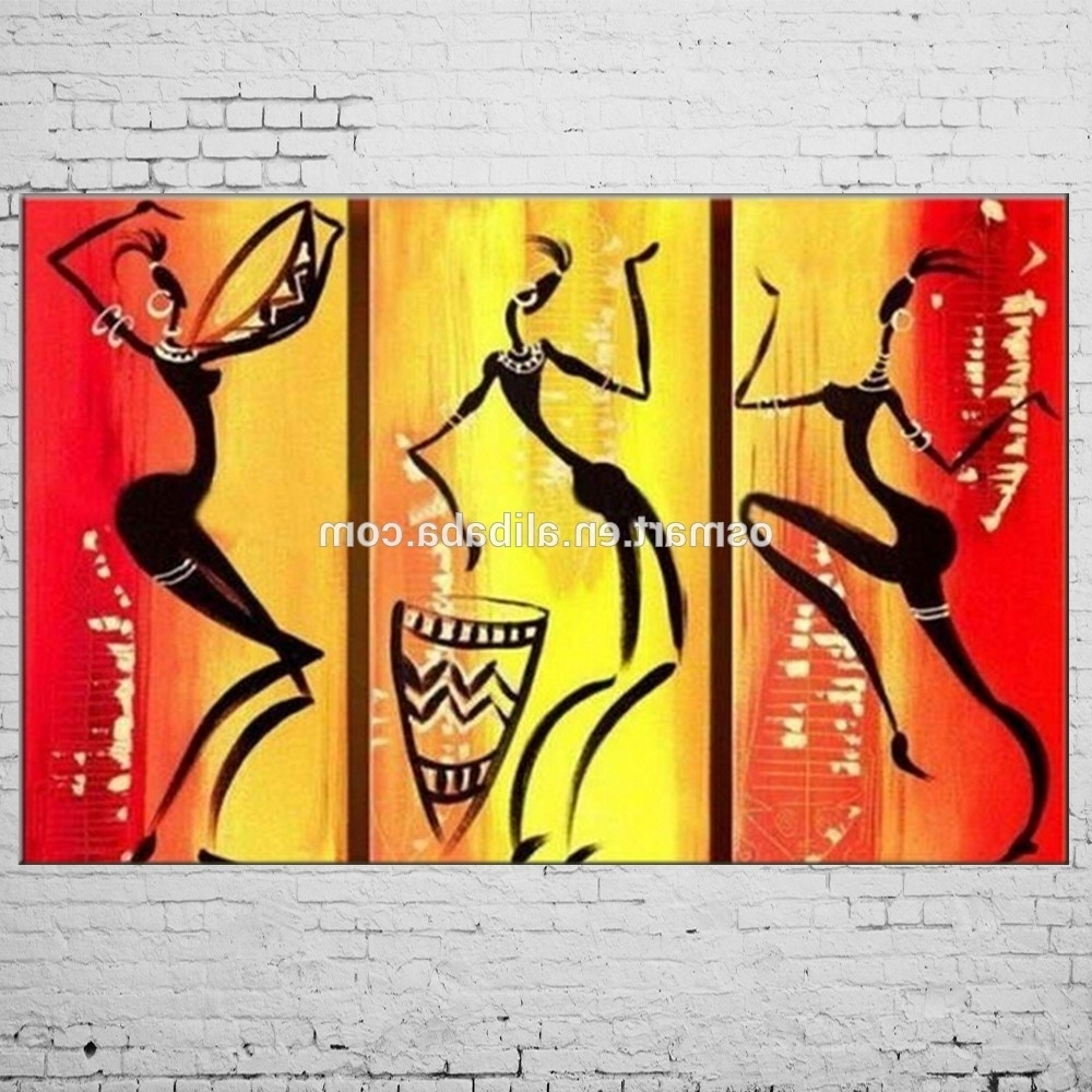 Gallery of Abstract African Wall Art (View 9 of 15 Photos)