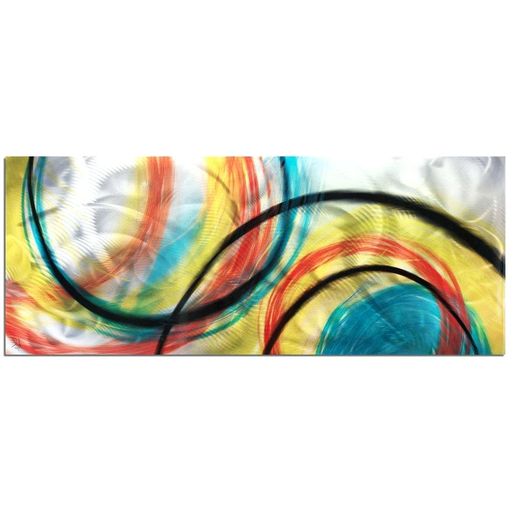 Abstract Angkor Swirl Metal Wall Art Pertaining To Recent Wall Arts ~ Eternal Swirl Metal Wall Art Metal Wall Art Abstract (View 9 of 15)