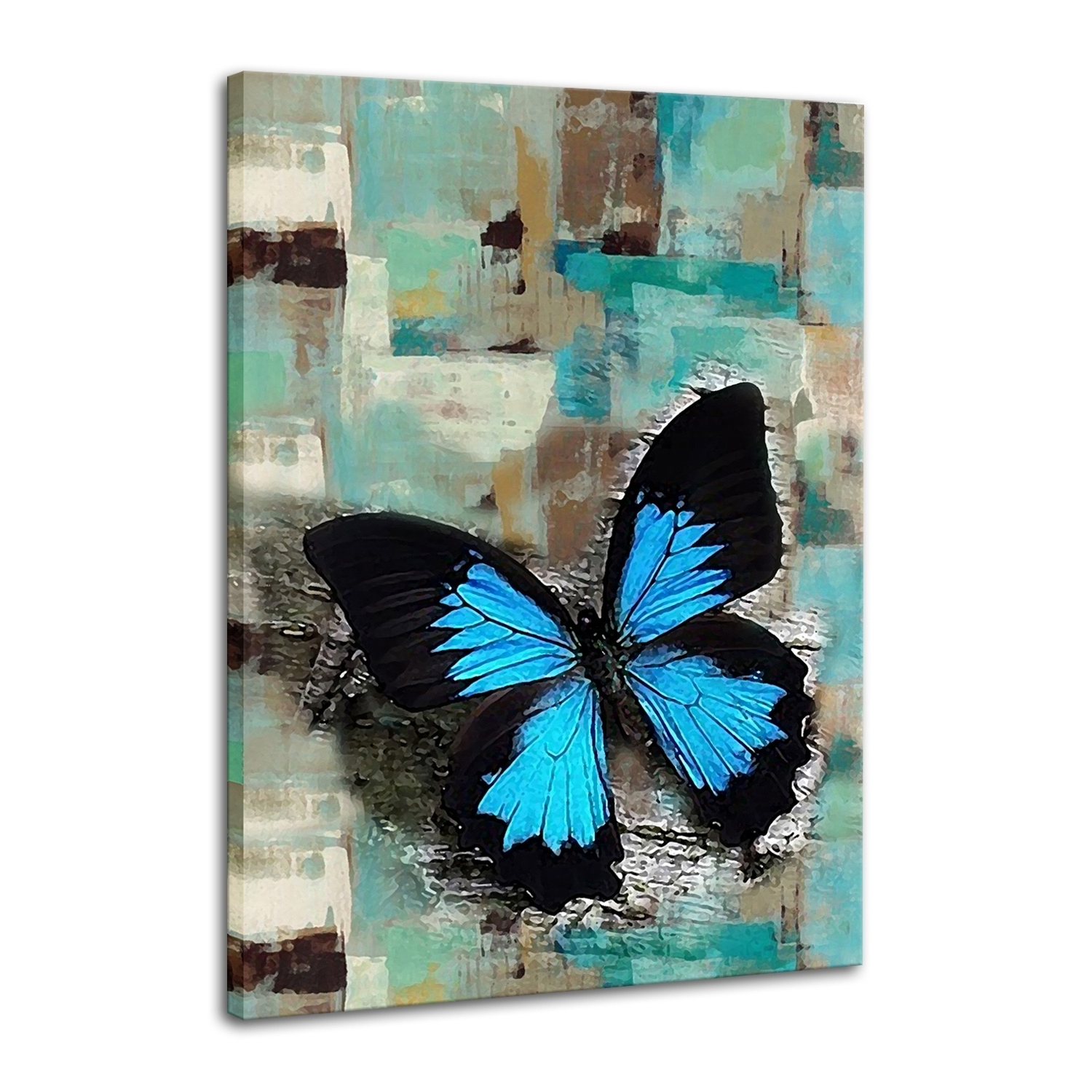 Abstract Butterfly Wall Art With Best And Newest Abstract Oil Painting, Hand Painted Oil Painting, Wall Art – Iarts (View 9 of 15)