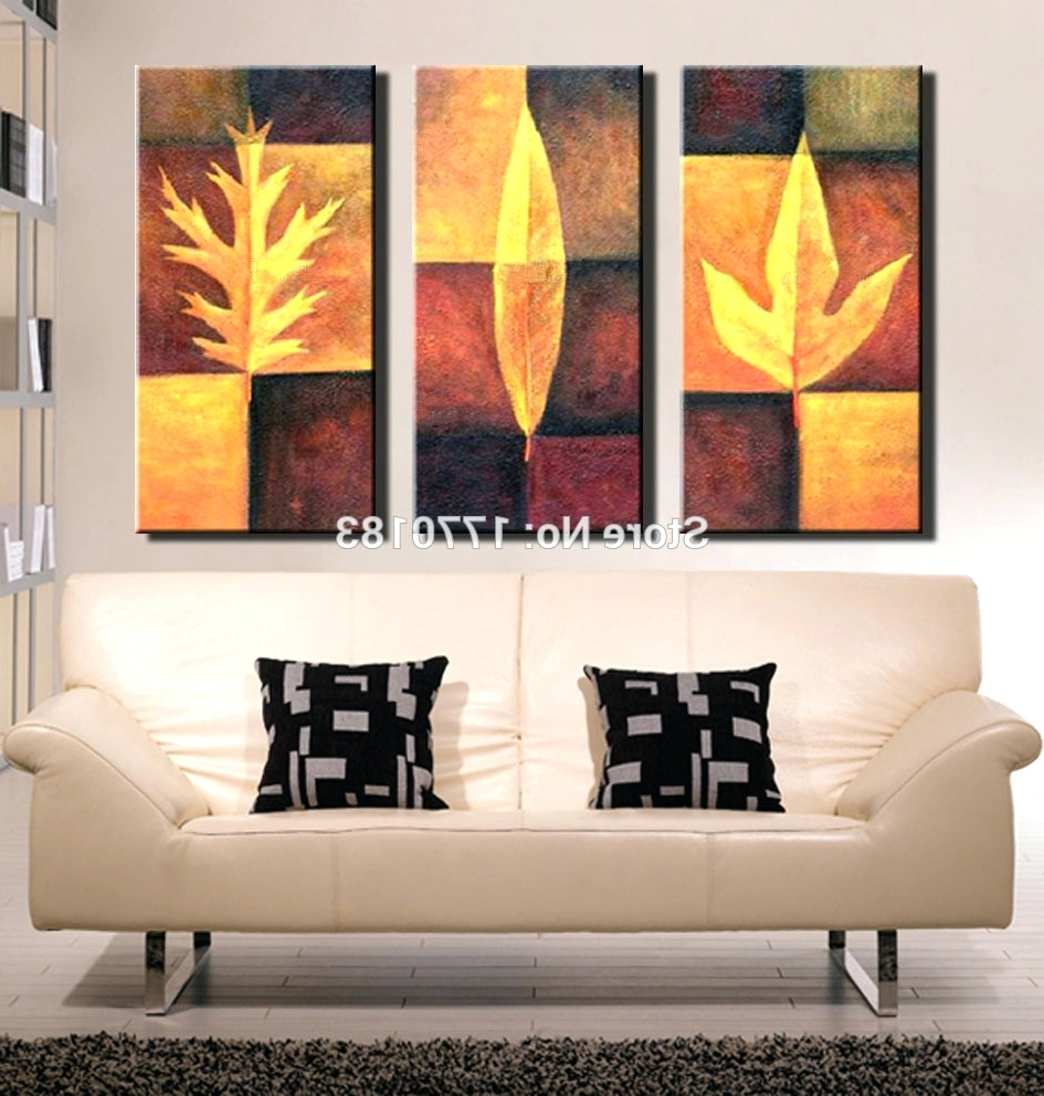 Abstract Canvas Wall Art Iii In Fashionable Wall Arts ~ 3 Piece Abstract Canvas Wall Art 3 Piece Abstract (View 4 of 15)