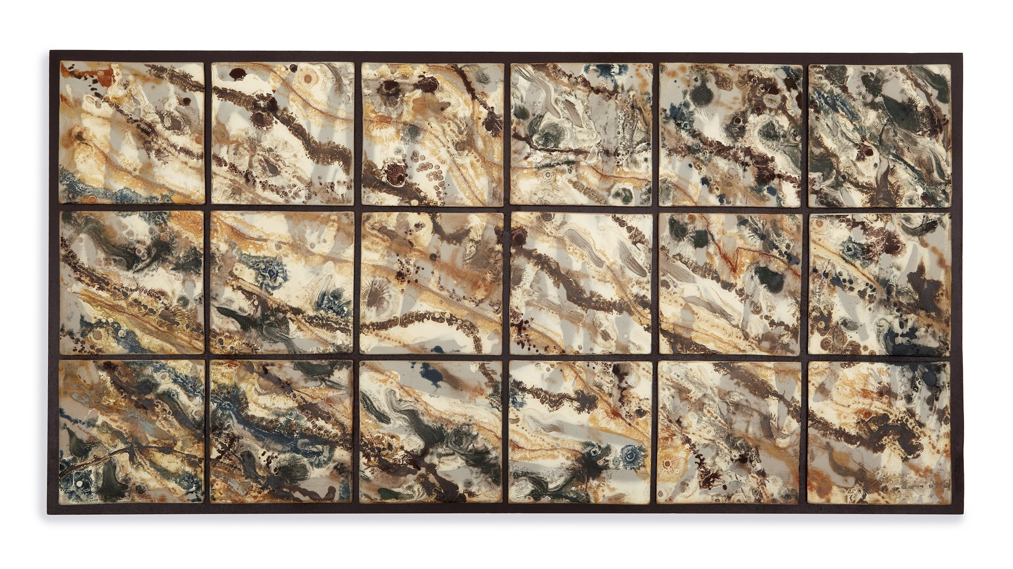 Abstract Ceramic Wall Art With Most Up To Date Wall Art Decor Ideas: Great Outstanding Ceramic Wall Tile Art (View 7 of 15)