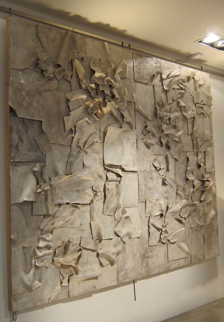 Abstract Ceramic Wall Art Within Well Known Large Ceramic Sculptures Ceramic Sculpture Ceramic Or Wood Flower (Gallery 8 of 15)