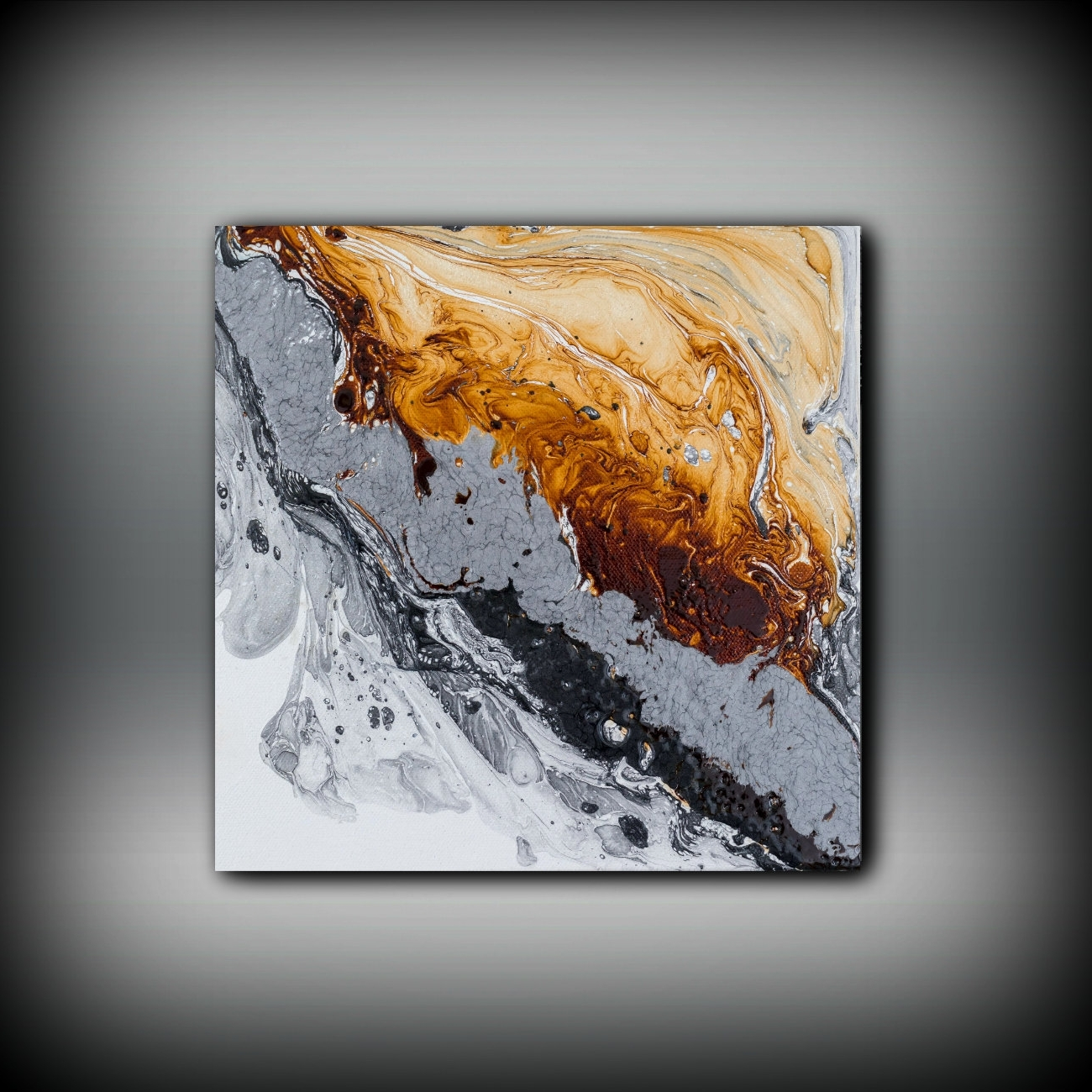 Abstract Copper Wall Art Regarding Most Current Original Painting Art Painting Oil Painting Abstract Painting (View 4 of 15)