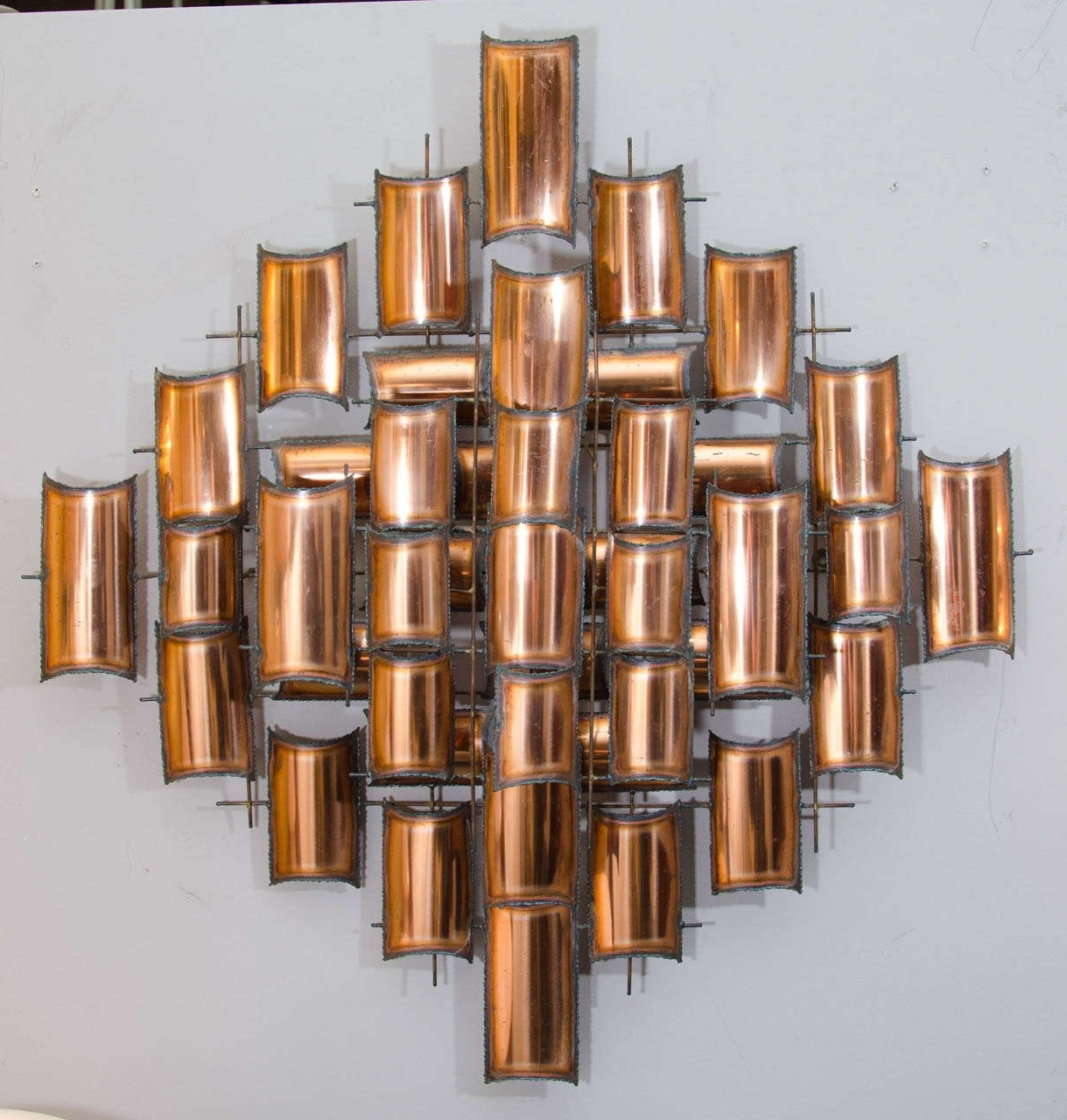 Abstract Copper Wall Art With Current Wall Art Designs: Copper Wall Art Home Decorate Wall Art Abstract (View 5 of 15)