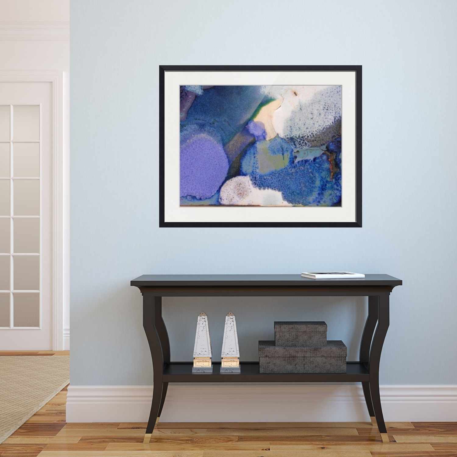 Abstract Framed Wall Art – Rectangle # (View 1 of 15)