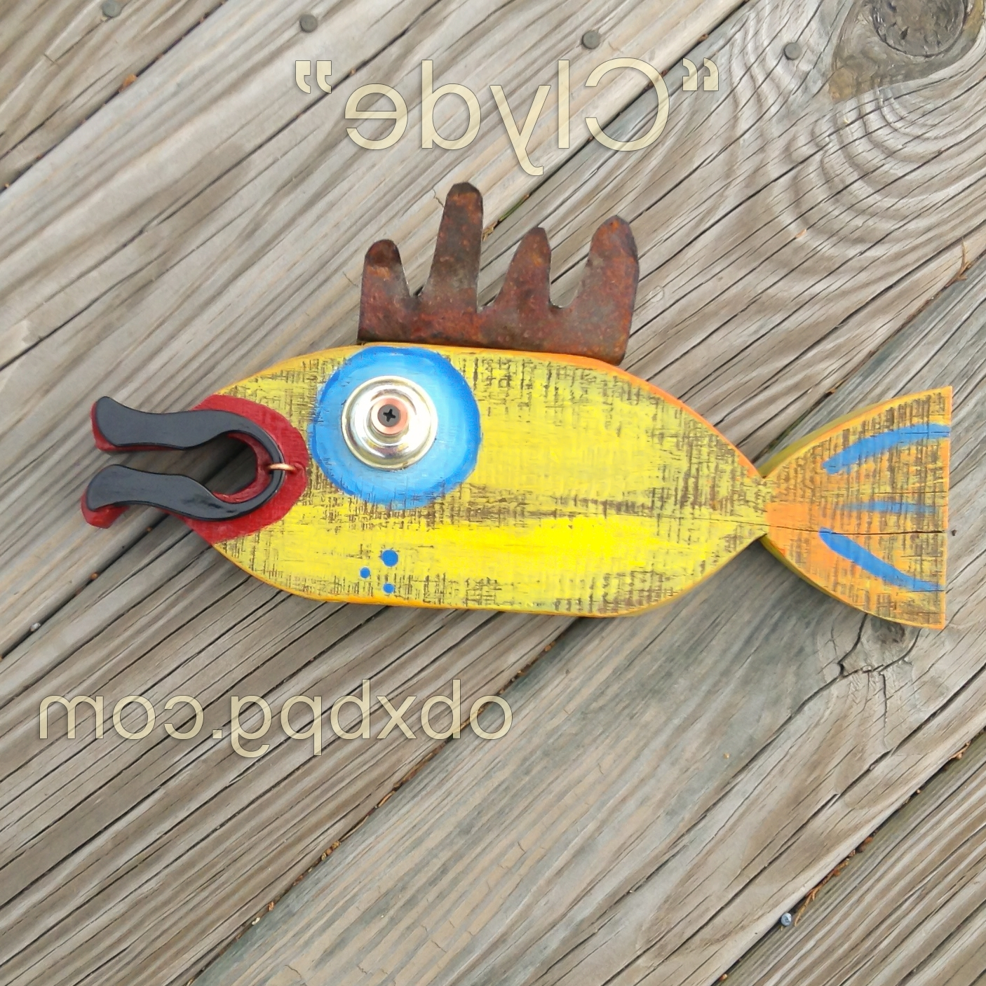 Awesome Wooden Fish Wall Art Pictures Inspiration - The Wall Art ...