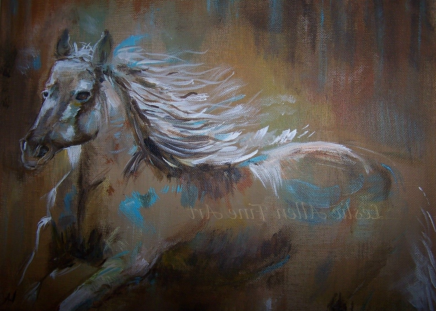 Abstract Horse Paintings Painting Horses With Regard To Trendy Abstract Horse Wall Art (View 5 of 15)