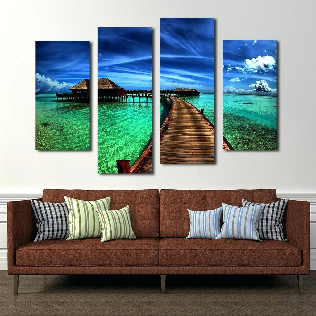 Abstract Nature Canvas Wall Art Inside Recent Wall Arts ~ Canvas Wall Art Sets Nature Abstract Nature Canvas (View 5 of 15)