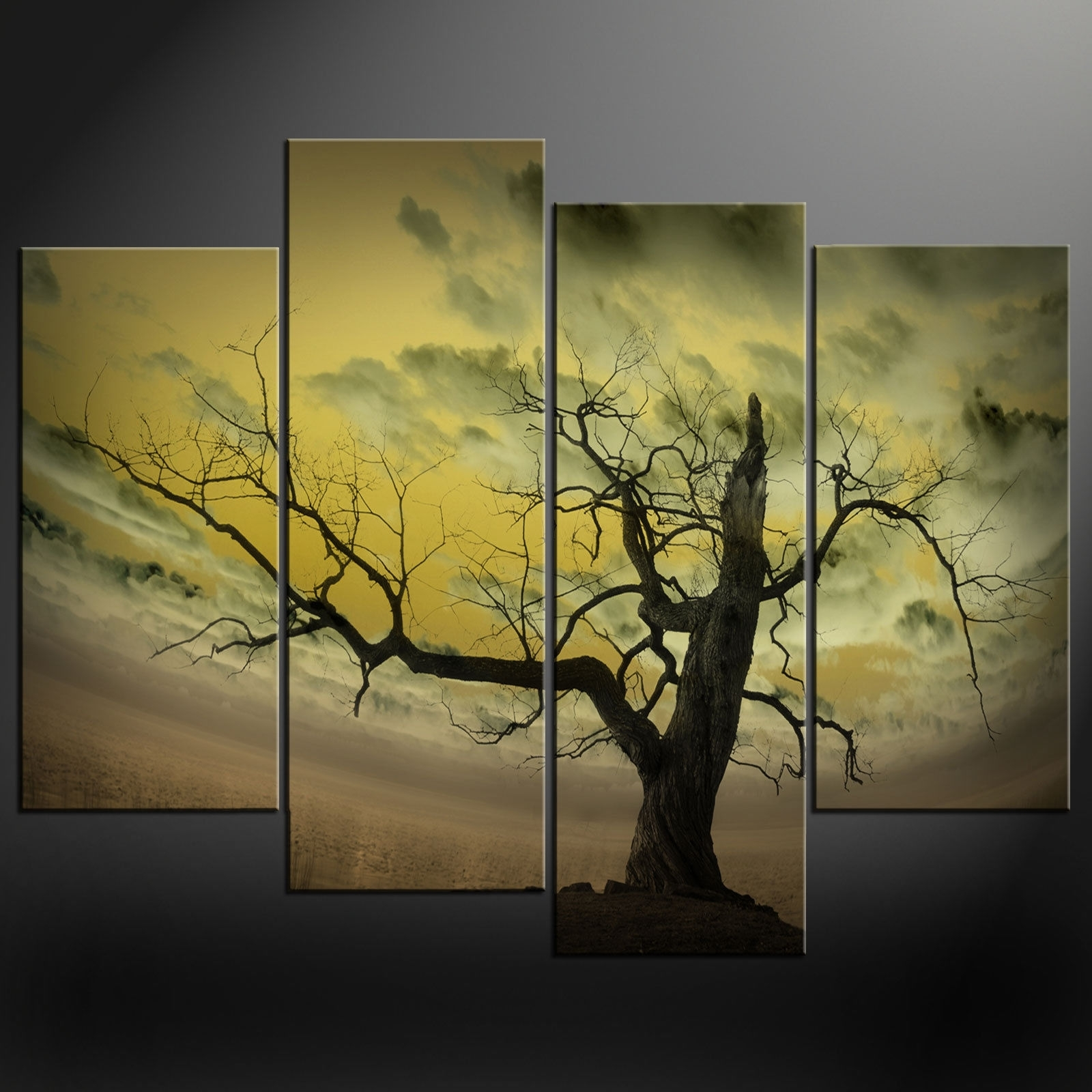 Abstract Nature Canvas Wall Art Throughout 2018 Wall Art: Top 10 Sample Ideas Tree Canvas Wall Art Canvas Prints (View 6 of 15)