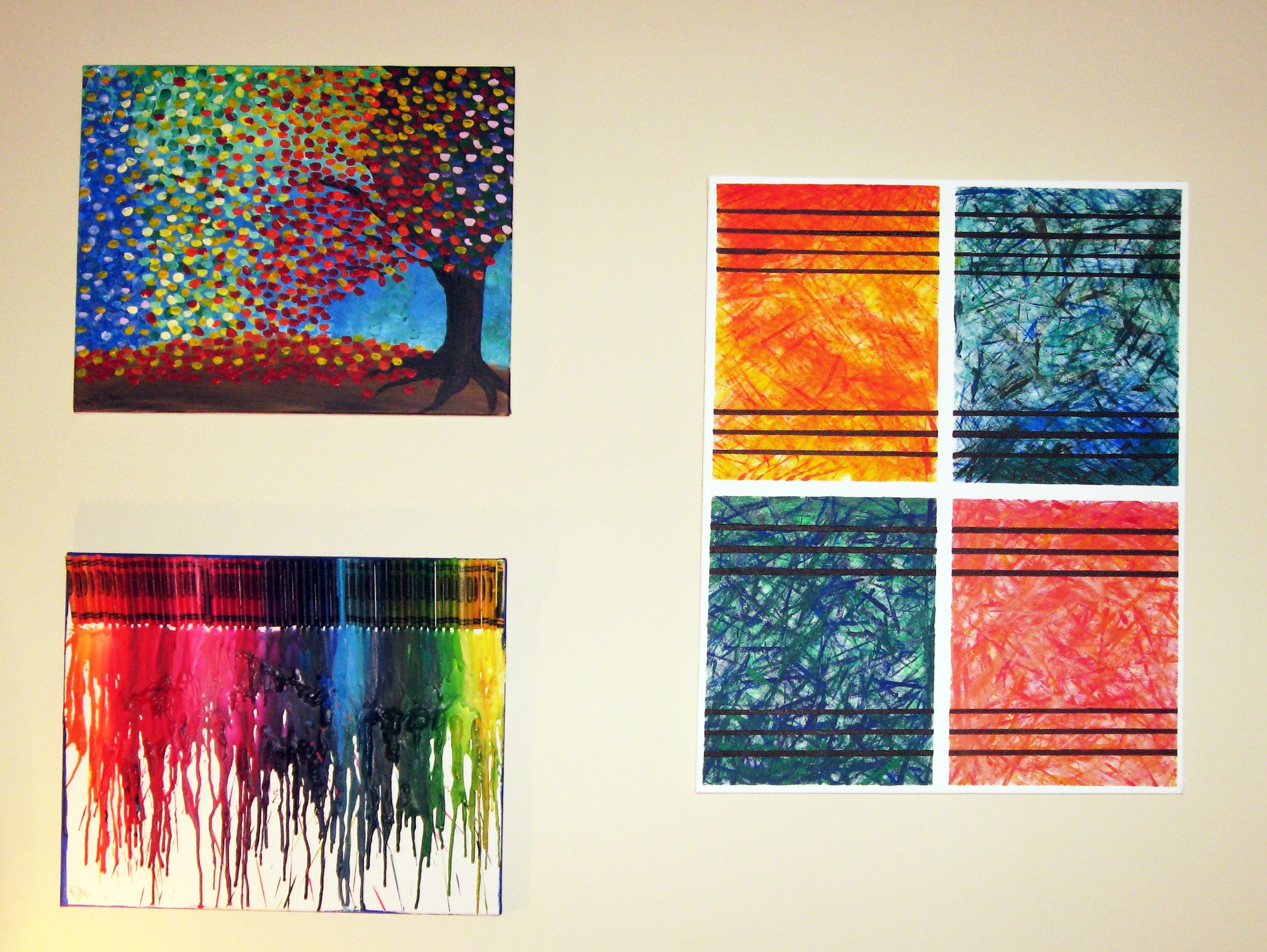 Abstract Wall Art For Most Recent Diy Abstract Wall Art Via Make Something Mondays – Dma Homes (View 3 of 15)
