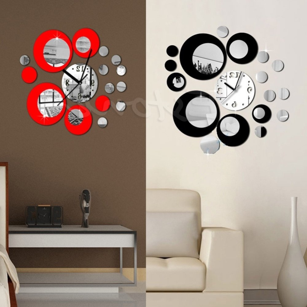Abstract Wall Art With Clock Regarding Favorite Cozy Abstract Wall Clock 75 Abstract Metal Wall Art With Clock (View 5 of 15)