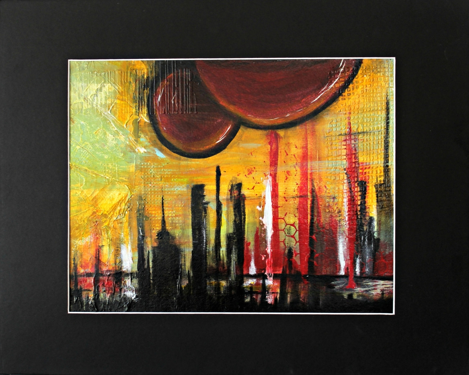 Acrylic Abstract Wall Art Pertaining To Well Liked Abstract Acrylic Paintingcrystal Renee (View 3 of 15)