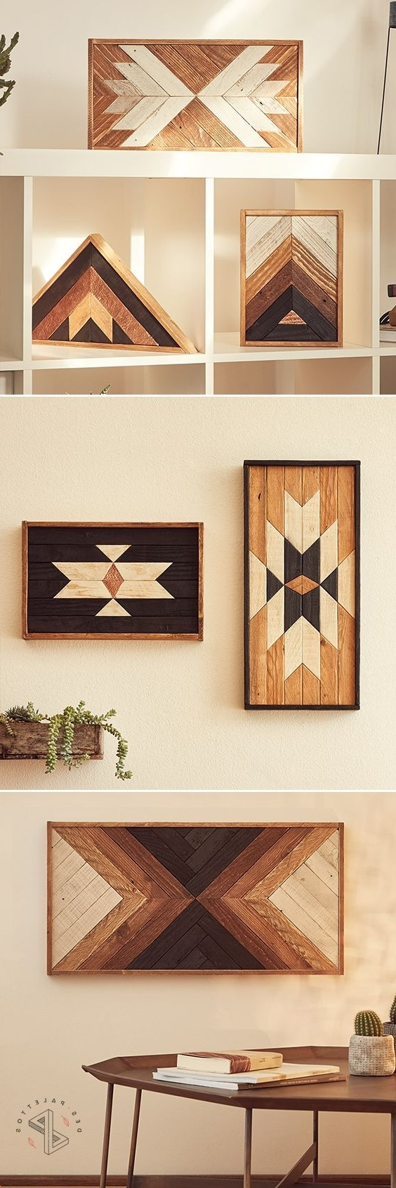 Add Rustic Beauty To Throughout Italian Wood Wall Art (View 1 of 15)