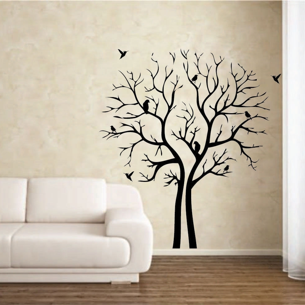 Affordable Modern Home Decor : Beautiful With Stencil Wall Art (View 2 of 15)