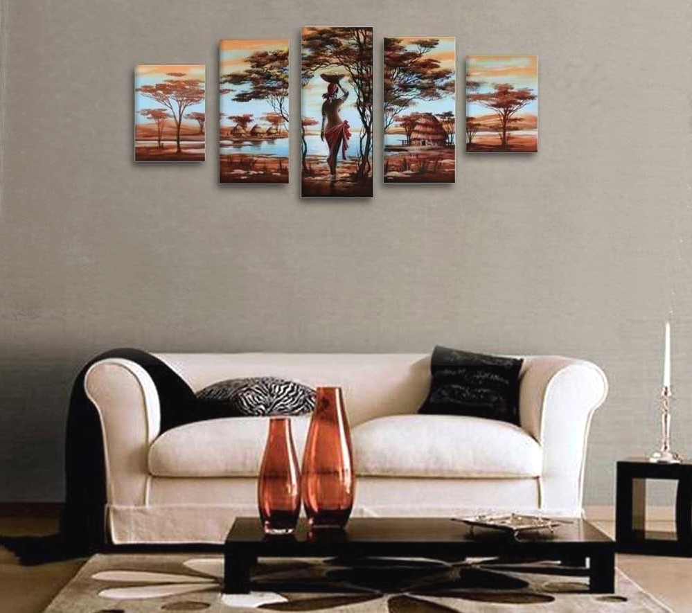 African American Wall Art And Decor Hand Painted Wood Framed Regarding Best And Newest African American Wall Art And Decor (View 6 of 15)