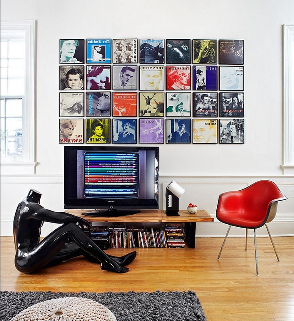 Album Cover Wall Art For Popular Collections – What And How To Display To Make A Statement With (View 2 of 15)
