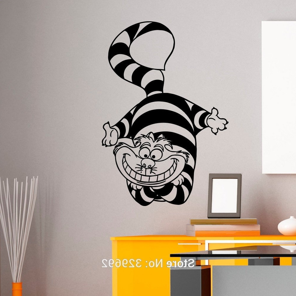 Alice In Wonderland Home Furnishings Furniture Uk Wall Stickers Pertaining To Well Known Tim Burton Wall Decals (View 1 of 15)