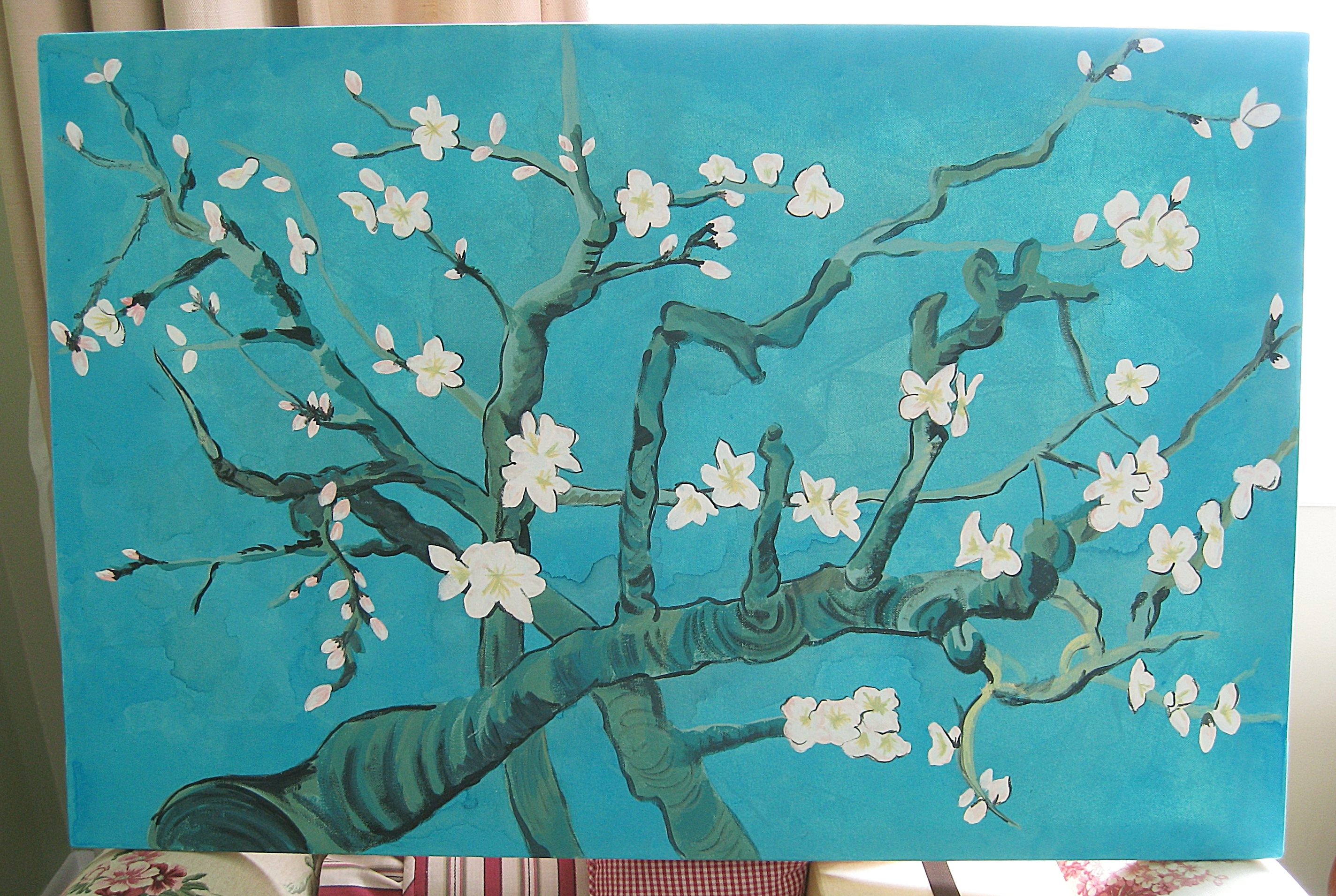 Almond Blossoms Vincent Van Gogh Wall Art In Most Up To Date Van Gogh Inspired Wall Art (View 3 of 15)
