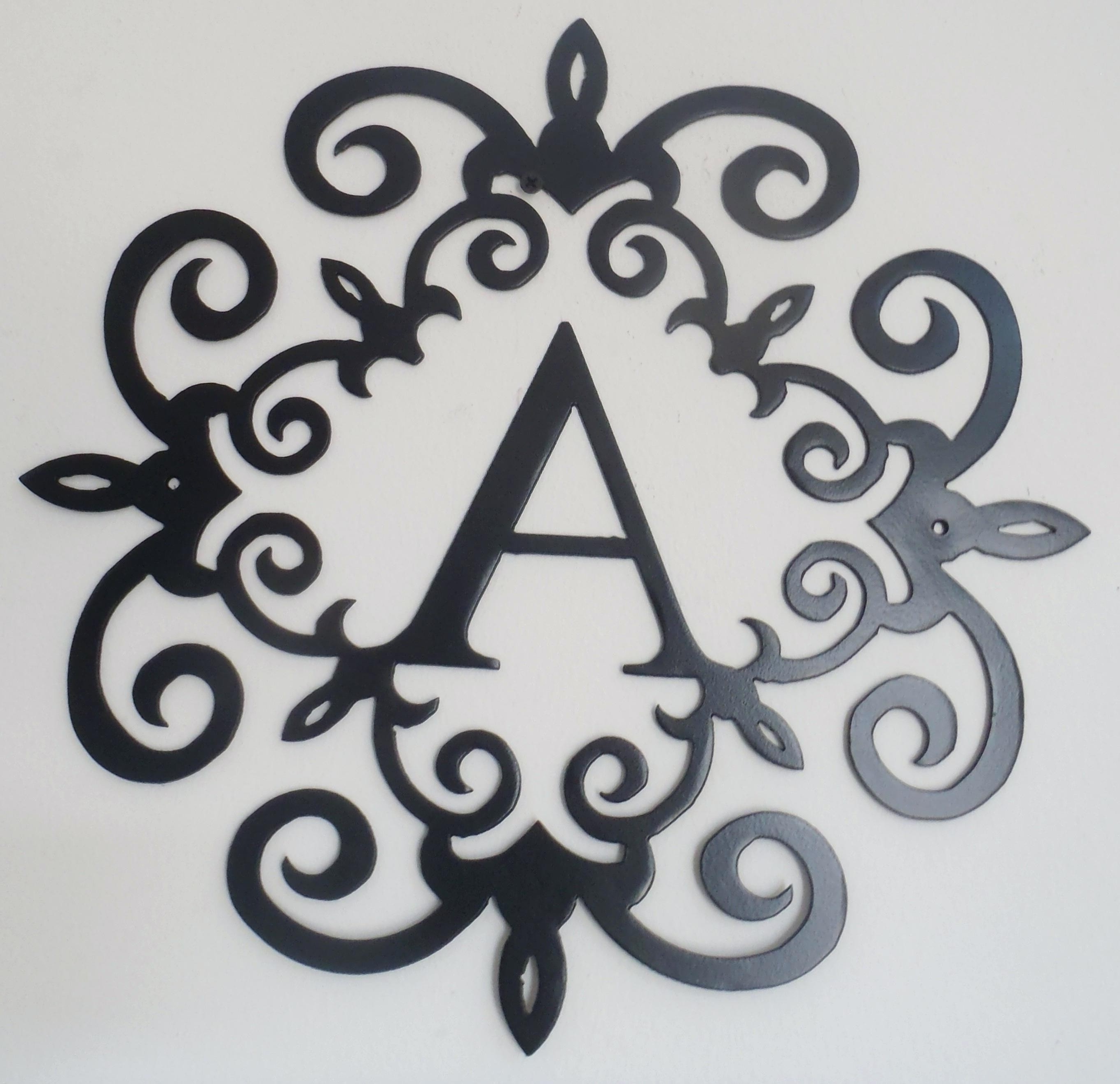 Amazing Metal Scroll Wall Art Wallpapers (View 1 of 15)