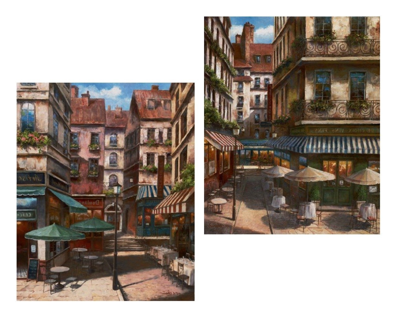 Amazon: 2 La Bistro Italian Cafe Posters Coffee Decor 8X10 Throughout Best And Newest Italian Bistro Wall Art (View 1 of 15)