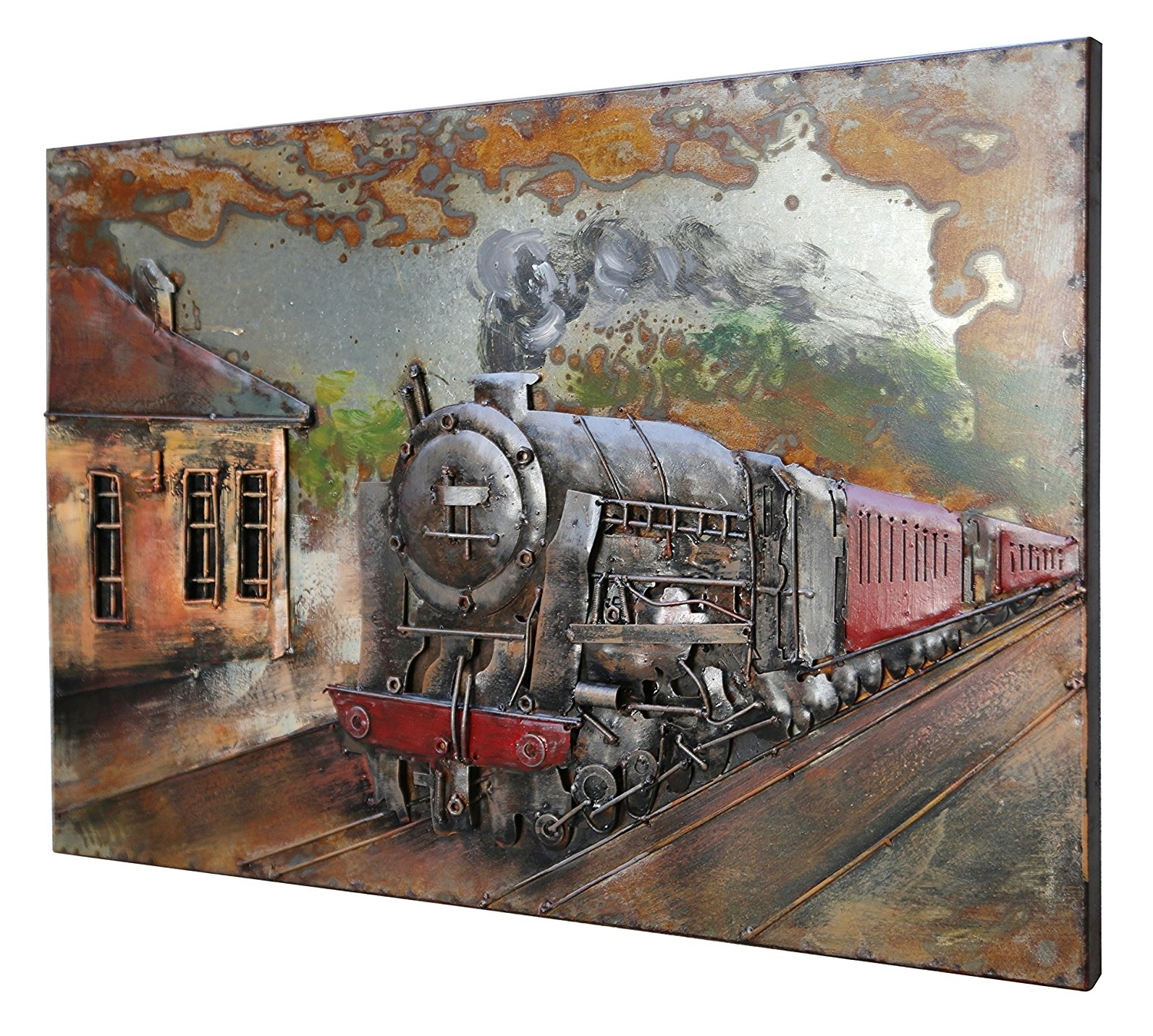 [%amazon: Asmork 3d Metal Art – 100% Handmade Metal Unique Wall Regarding Popular Unique 3d Wall Art|unique 3d Wall Art With Newest Amazon: Asmork 3d Metal Art – 100% Handmade Metal Unique Wall|newest Unique 3d Wall Art Regarding Amazon: Asmork 3d Metal Art – 100% Handmade Metal Unique Wall|well Known Amazon: Asmork 3d Metal Art – 100% Handmade Metal Unique Wall Within Unique 3d Wall Art%] (View 14 of 15)