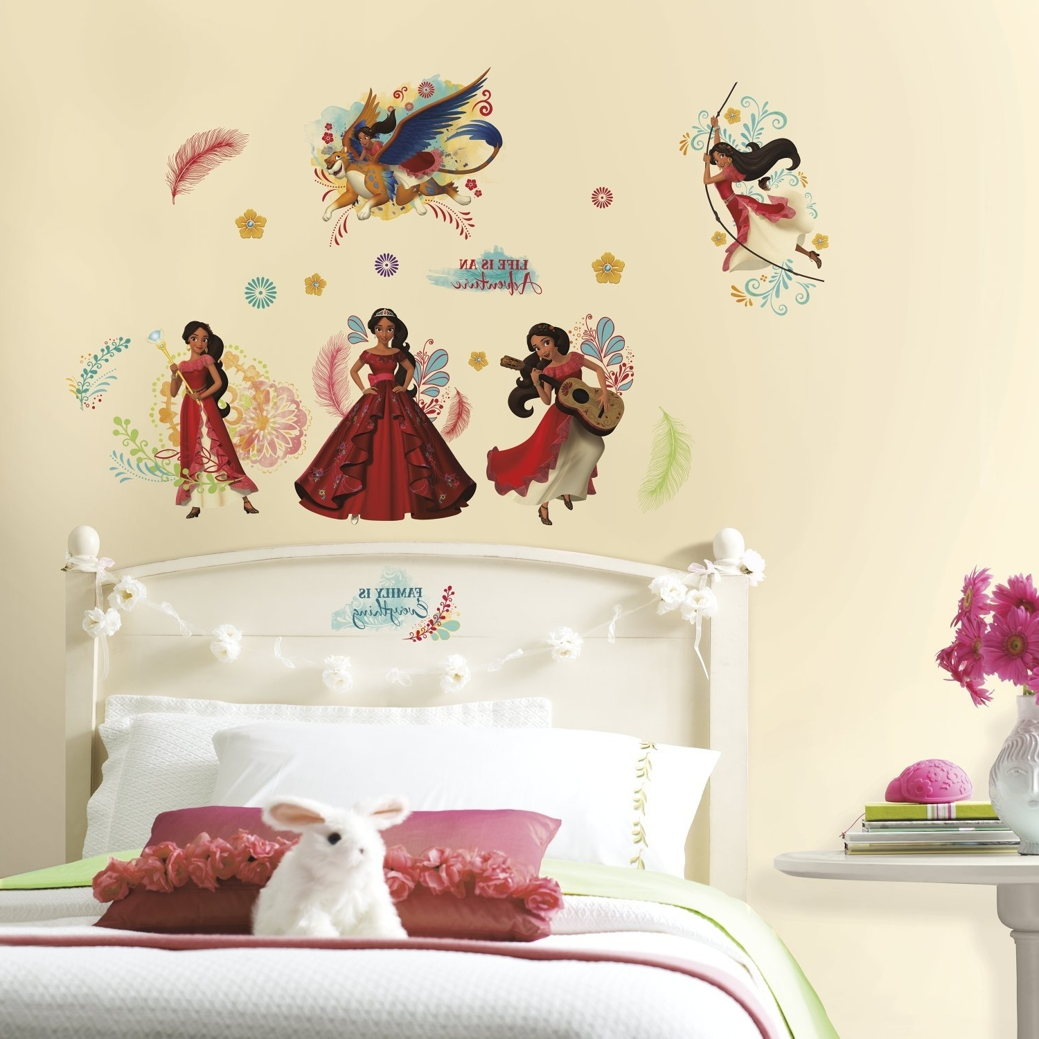 Amazon: Disney Elena Of Avalor Led Canvas Wall Art: Toys & Games In Most Popular Princess Canvas Wall Art (View 1 of 15)