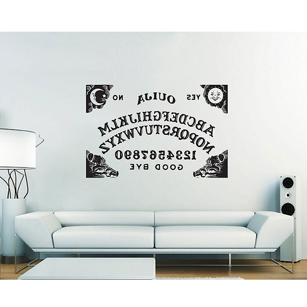 Amazon  Ouija Board Sticker Vinyl Wall Art Decal Wd 0624 In Most Popular Ouija Board  sc 1 st  Arts Accents Decals Murals Collections and More. & Photo Gallery of Ouija Board Wall Art (Showing 7 of 15 Photos)