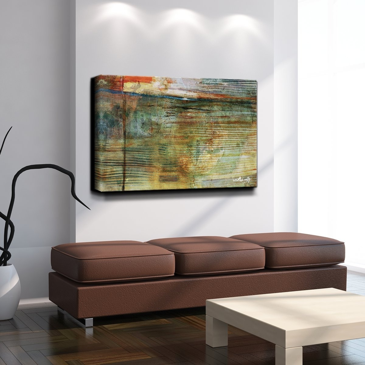 "Amazon: Ready2hangart Alexis Bueno ""smash Xvi"" Oversized Regarding Well Liked Oversized Canvas Wall Art (View 12 of 15)"