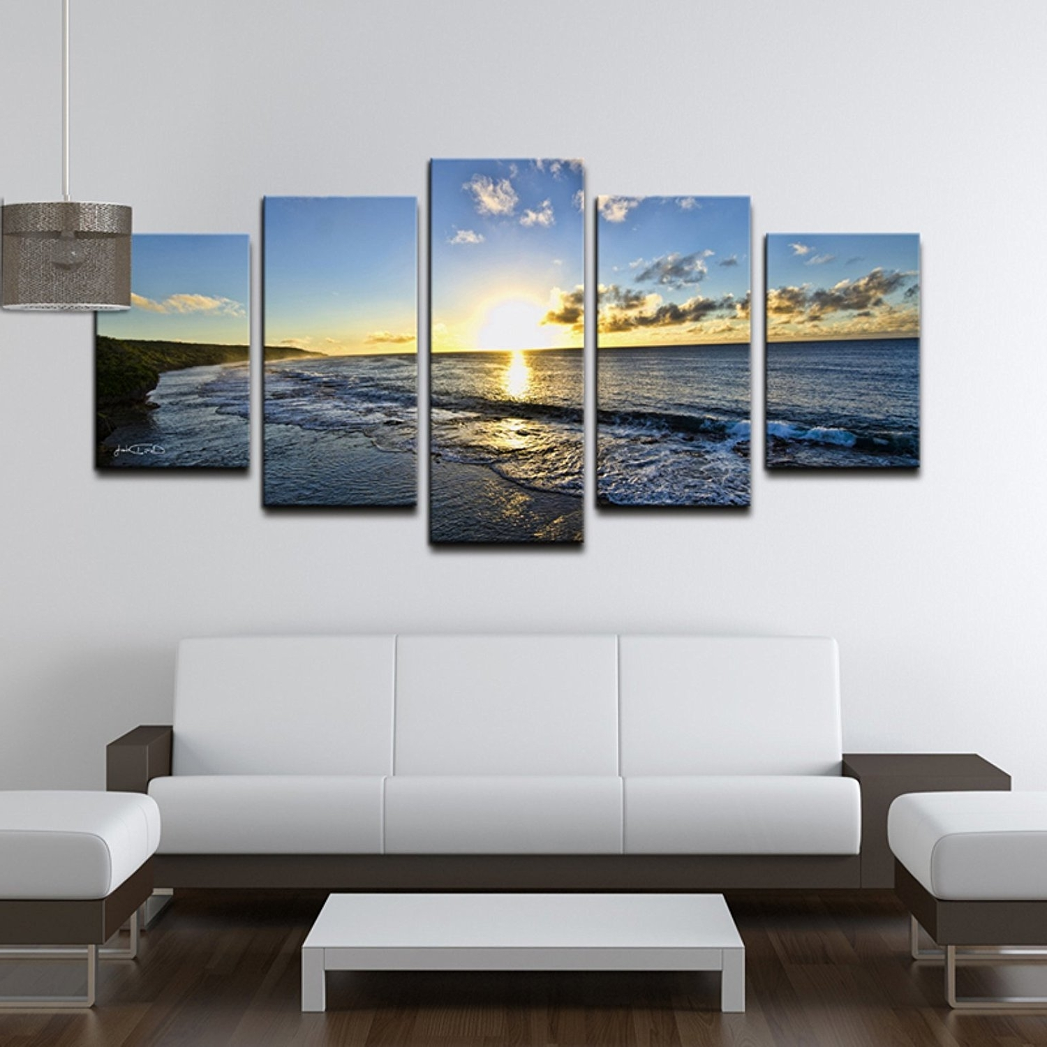 Amazon: Ready2Hangart Chris Doherty 'day Break' 5 Piece Canvas With Regard To Well Liked Five Piece Wall Art (View 3 of 15)