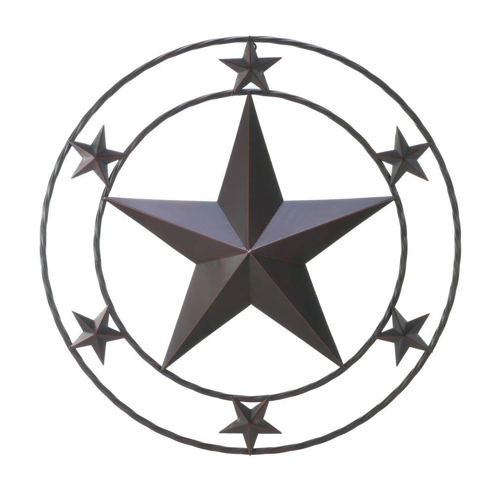 "Amazon: Texas Star Wall Decor – Home Decor – 24""x24"": Home Inside Preferred Texas Star Wall Art (View 1 of 15)"