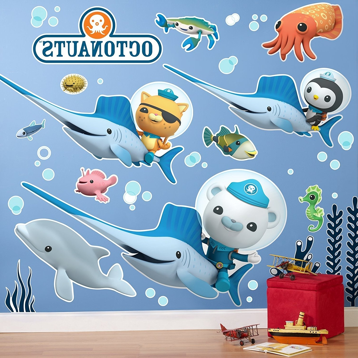 Featured Photo of Octonauts Wall Art