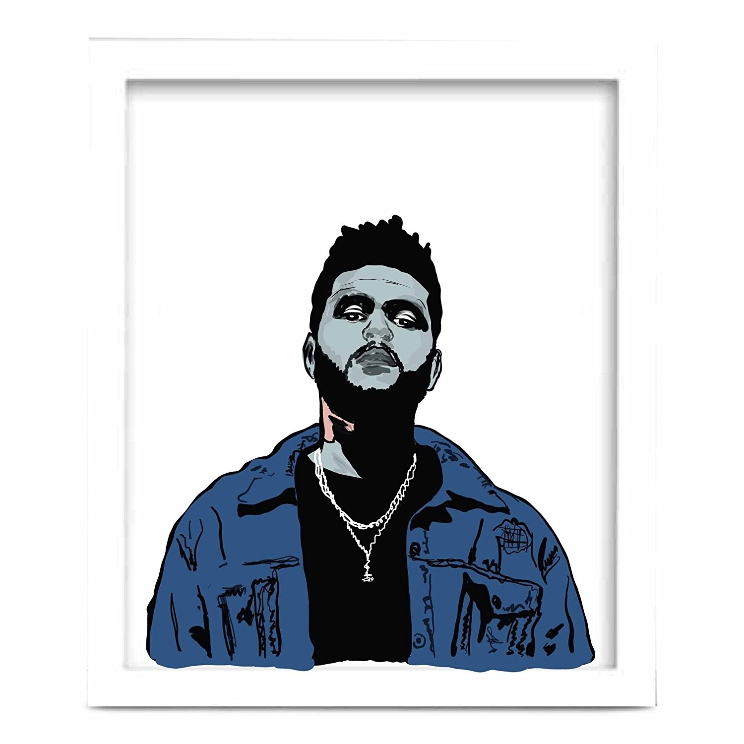 Amazon: The Weeknd 11X17 Art Poster: Posters & Prints Intended For Recent The Weeknd Wall Art (View 2 of 15)